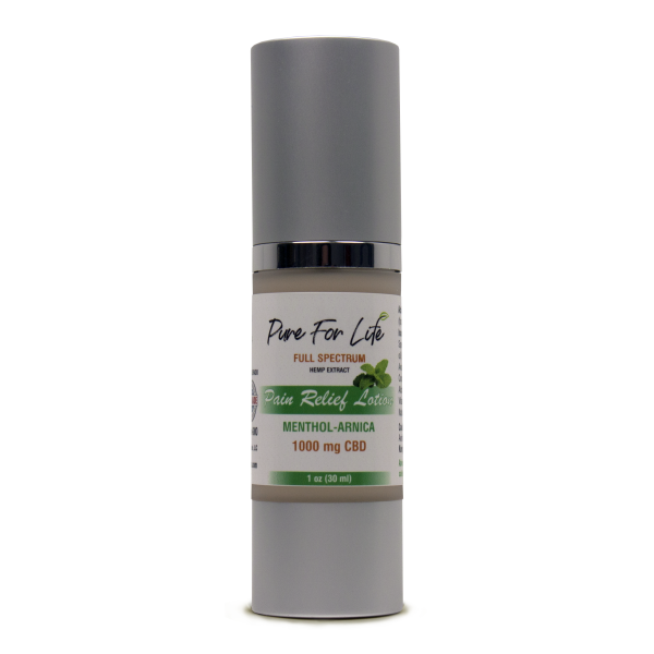 PureForLife™ 1000 Mg CBD Lotion  - 30 Ml Airless Bottle
