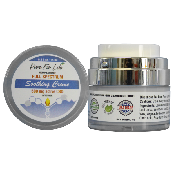 PureForLife™ Topical CBD Pain Cream - 500mg. - 0...