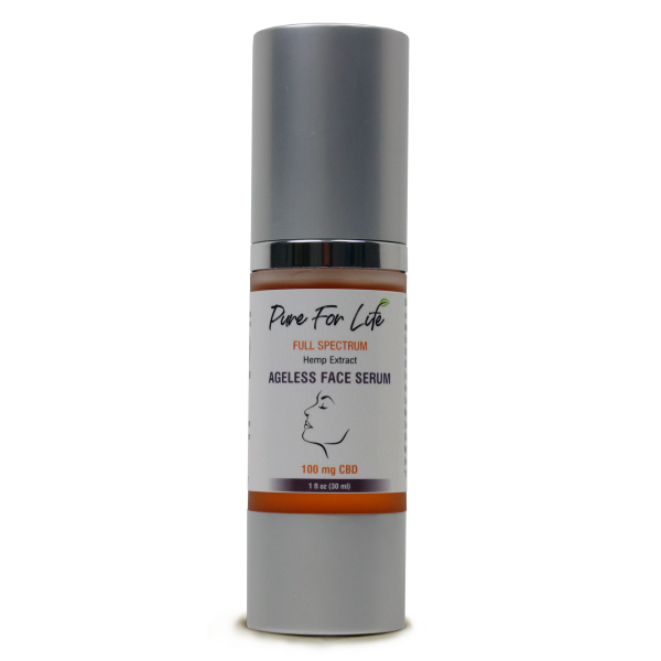 Pure For Life™ 100 mg Face Serum - 30 ml Airless Bottle