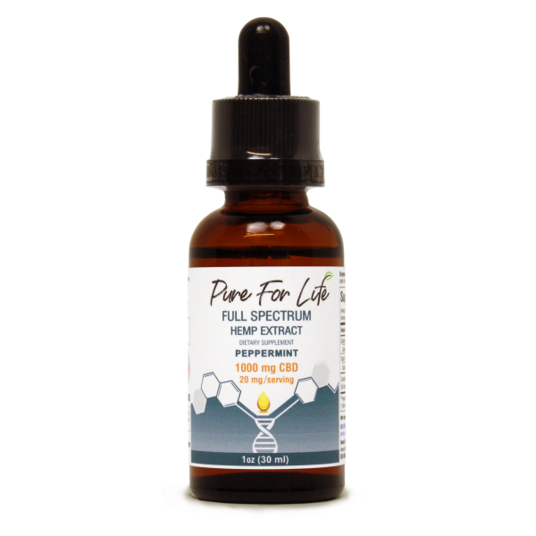 PureForLife™ 1000 Mg CBD Tincture - 30 Ml Bottle